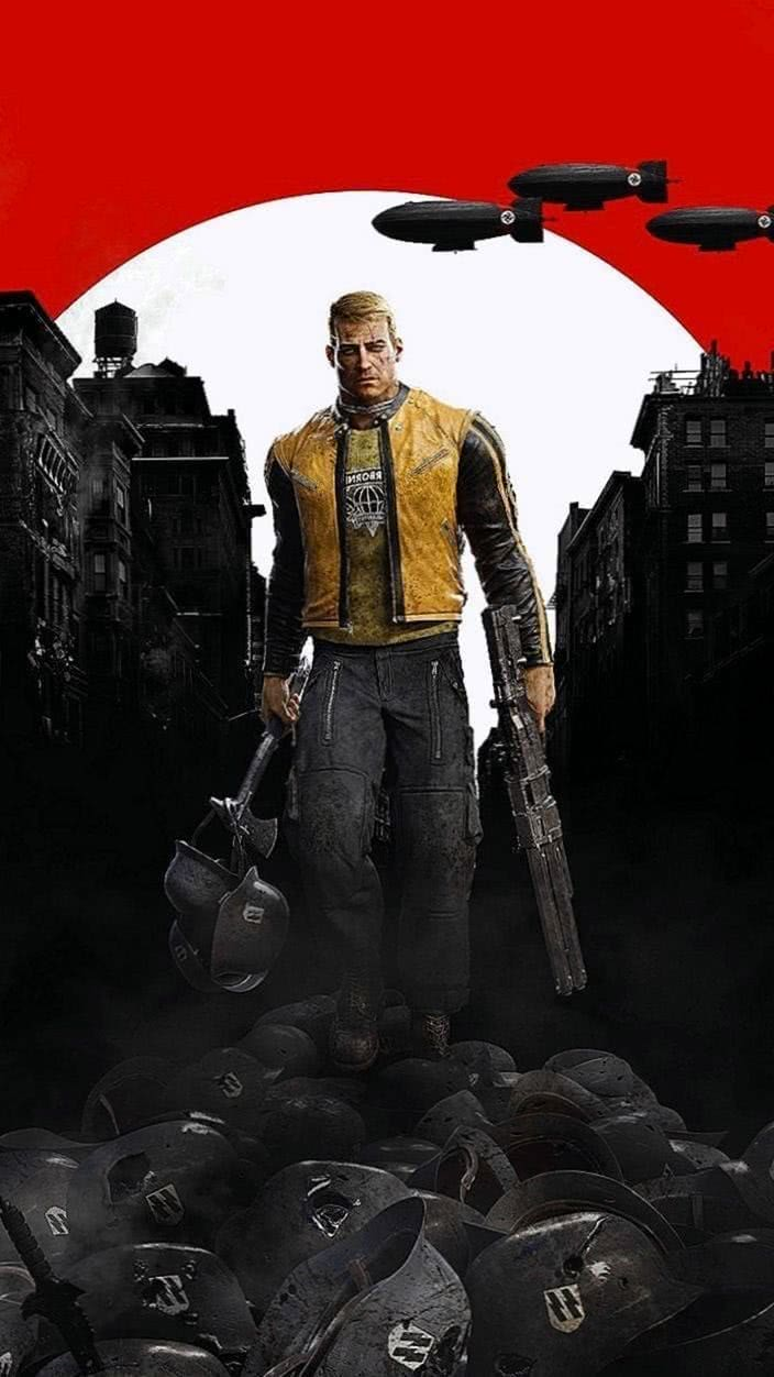 Wolfenstein 2 Phone Wallpapers Wolf Wallpapers Pro