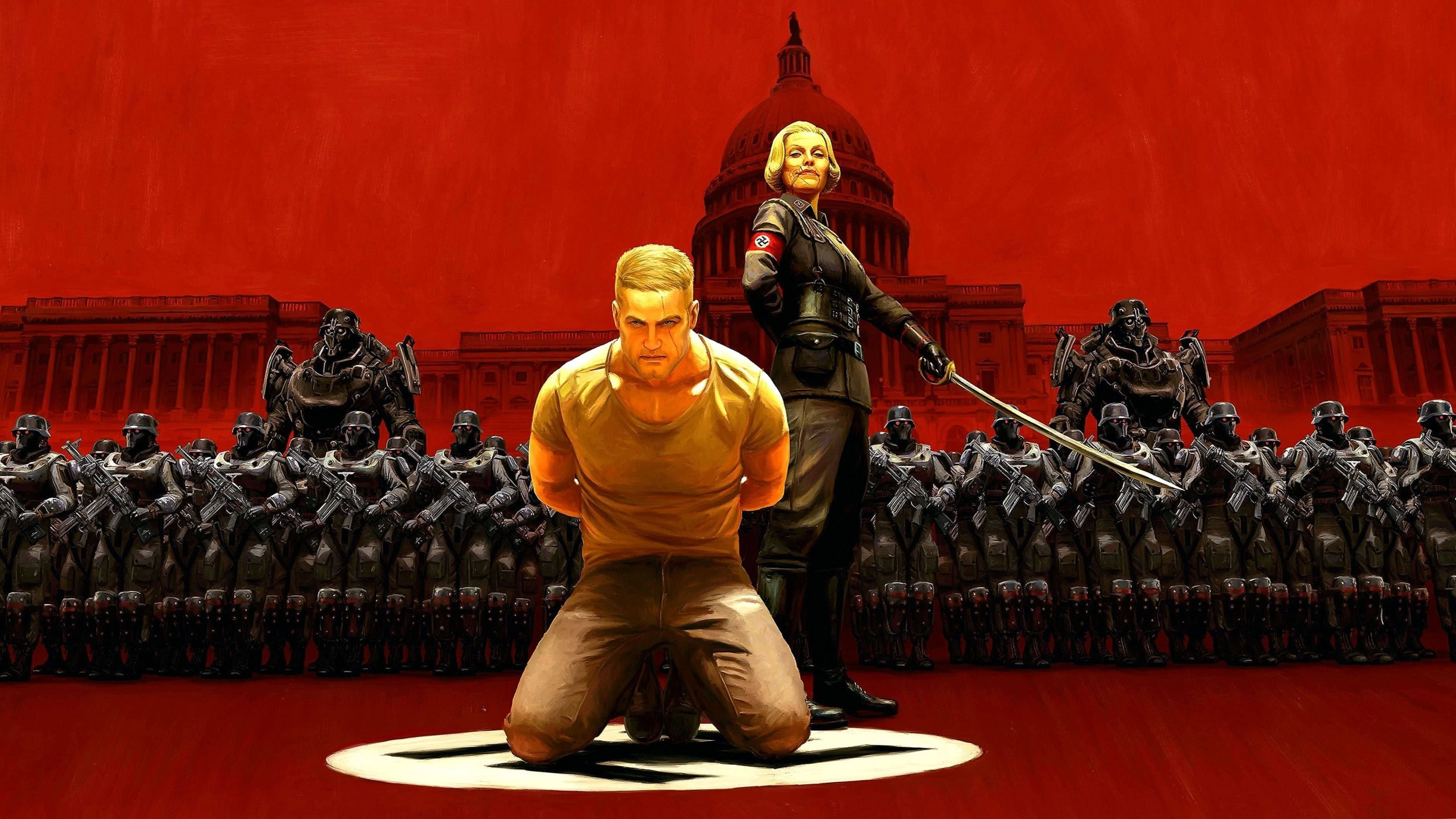 Wolfenstein 2 The New Colossus Wallpapers 4k Wolf Wallpapers Pro
