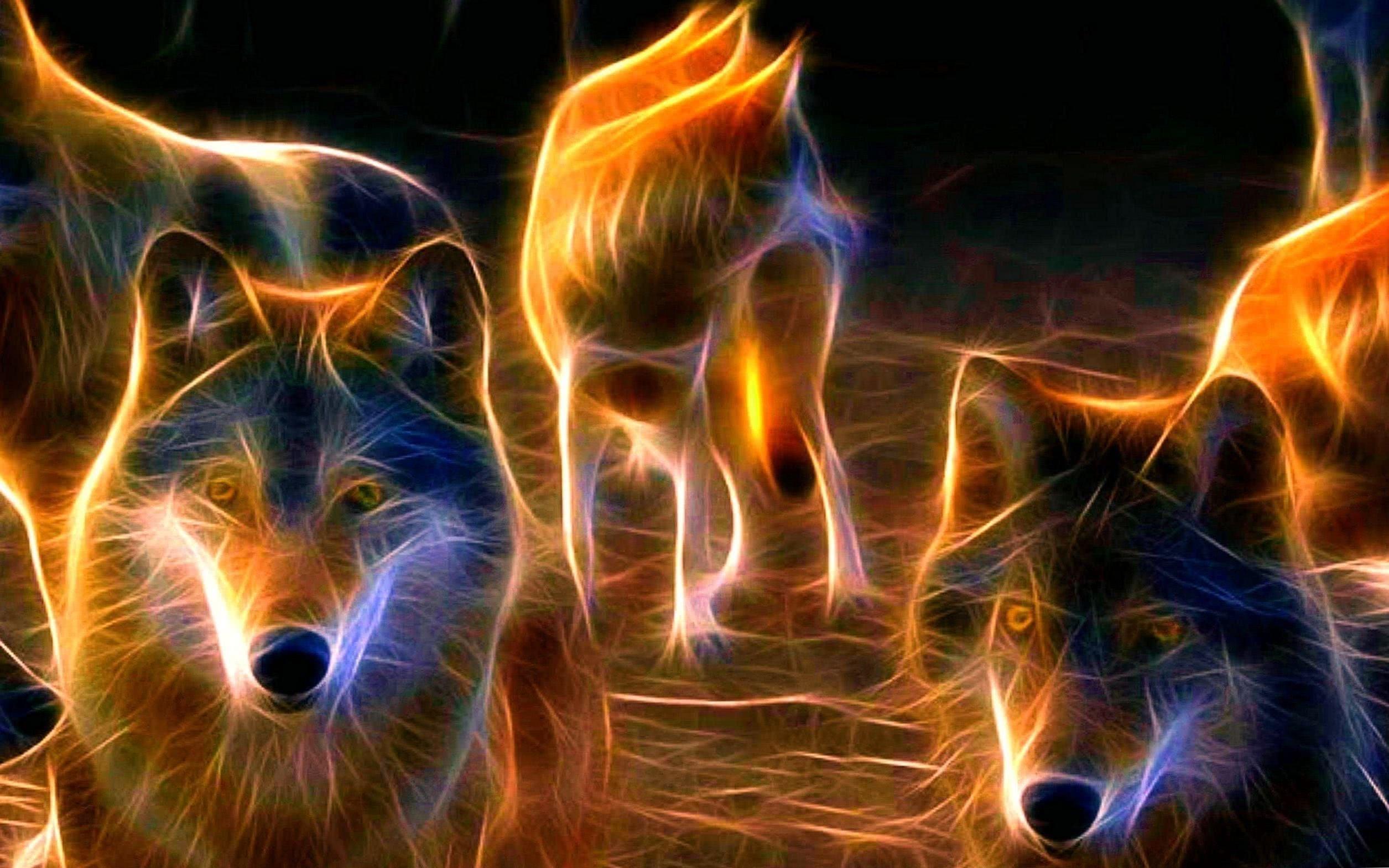 Wolves Pack Wallpaper