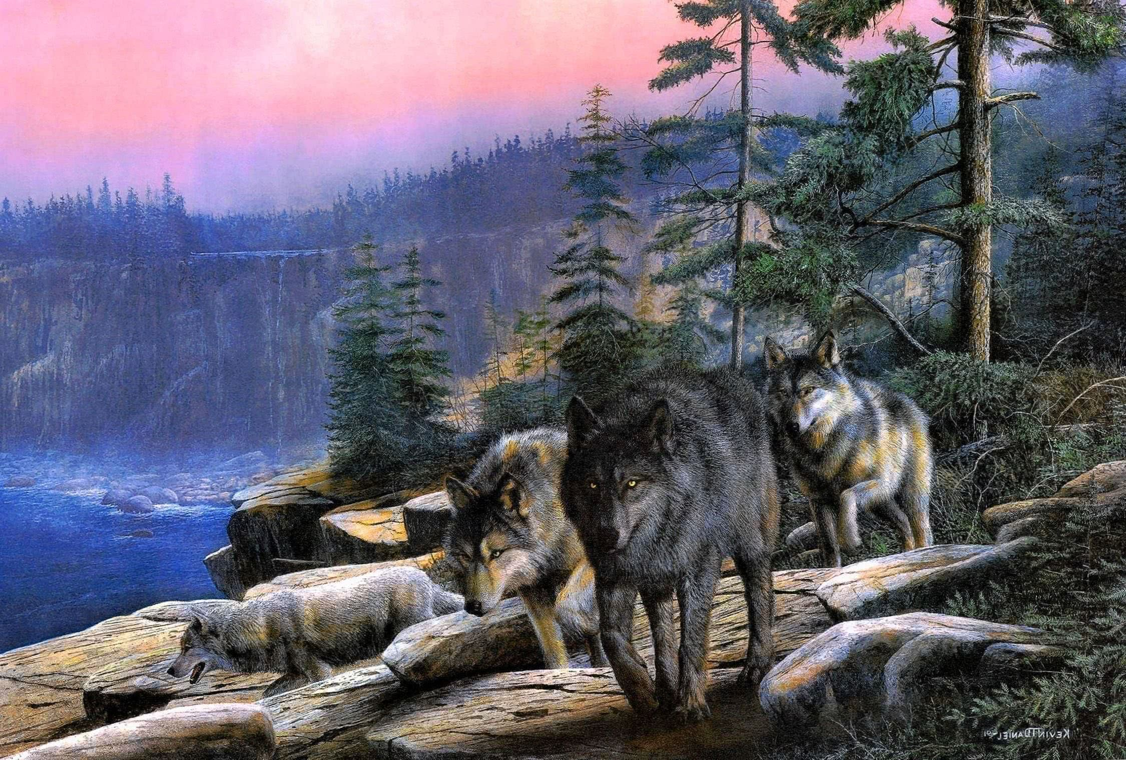 Wolf Pack HD Wallpapers