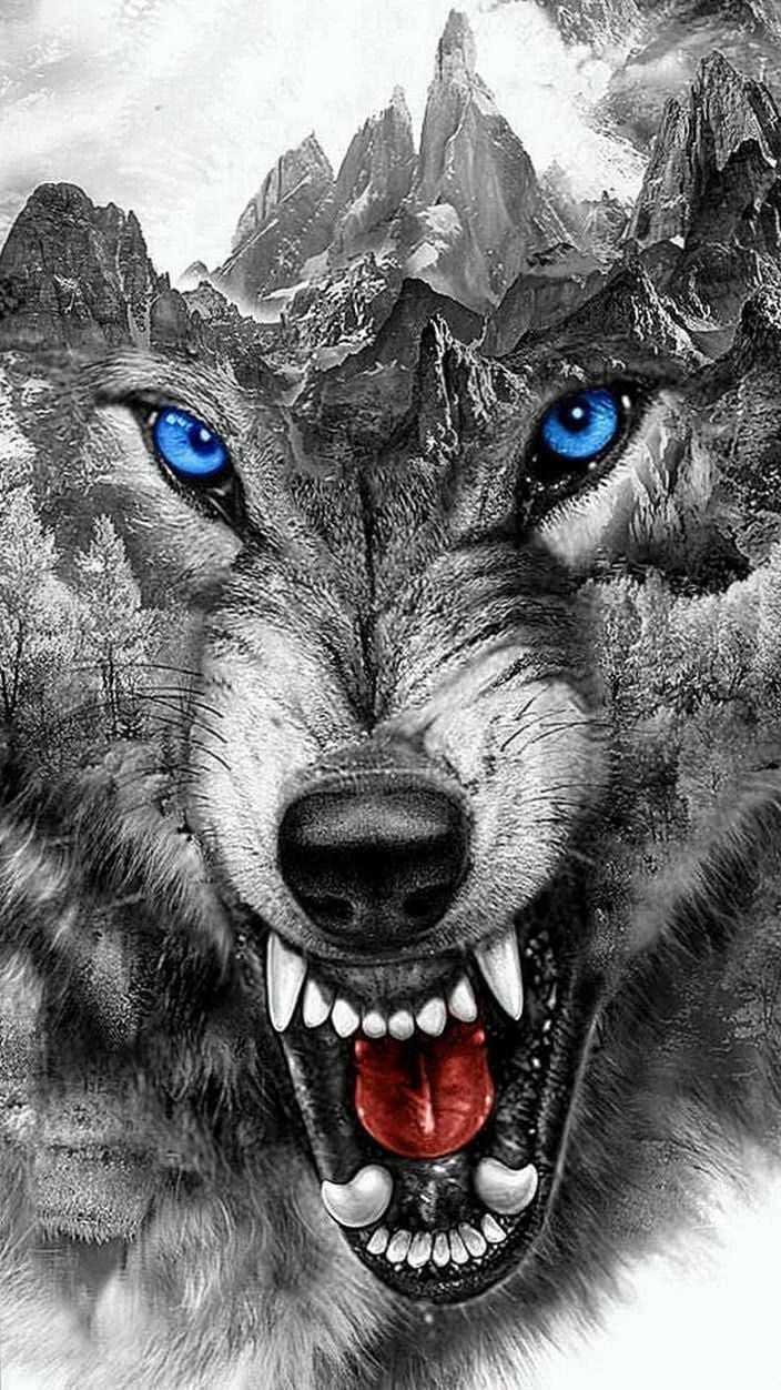 Wallpapers Wolf Tattoo